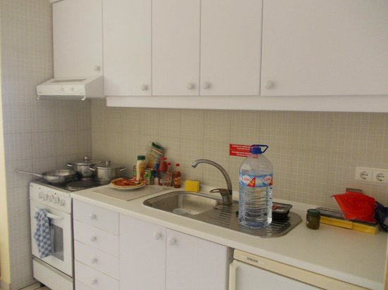 Pateo Village Apartments : Kitchen area...Fully equiped