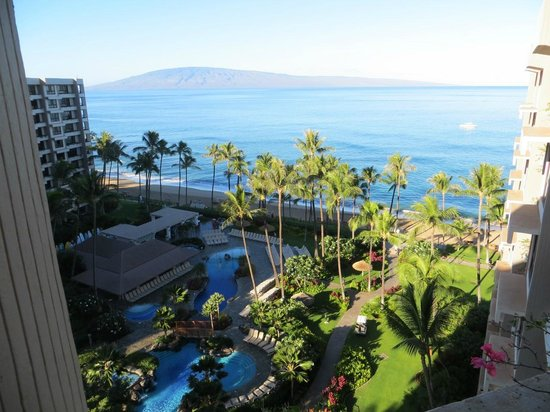 Kaanapali Alii: View from our lanai