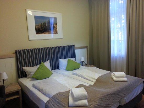 Hotel Hinrichs : Zimmer