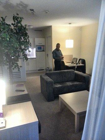 Amadore Hotel Restaurant De Kamperduinen: Onze kamer, 4 pers. appt.