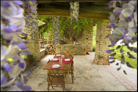 Agriturismo Castello di Bagnolo : il nostro tavolo