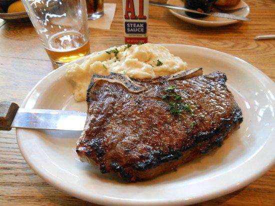 Carolina Roadhouse: My steak (had some gristle in it)