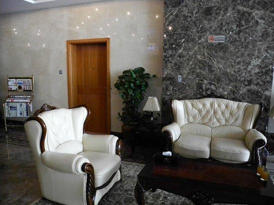 Rose Garden Hotel Apartments Bur Dubai Reception