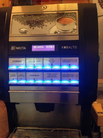 Hostel Archi Rossi: Coffee options