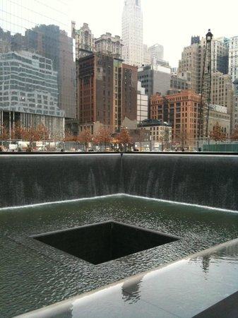 National September 11 Memorial und Museum: Memorial 11th September