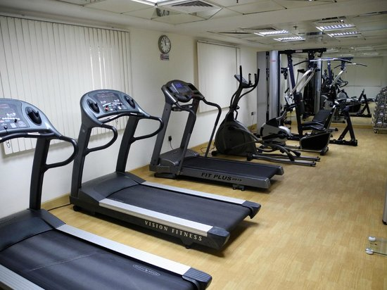 Rose Garden Hotel Apartments - Bur Dubai: gym