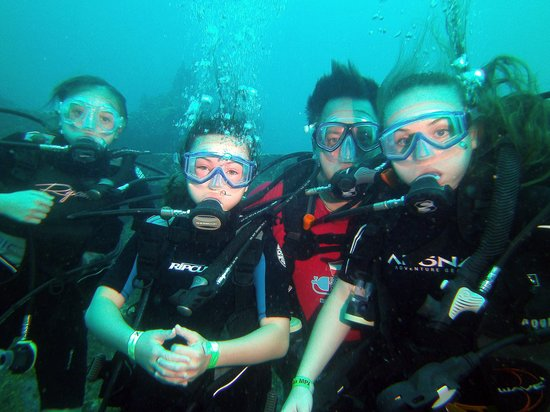 St. Croix Ultimate  Bluewater Adventures (SCUBA), Inc. : My crew diving with SCUBA