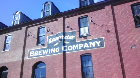 Lancaster Brewing Company: Front facade of the brewery.