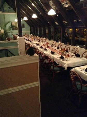 Westerly Restaurant : Long table one