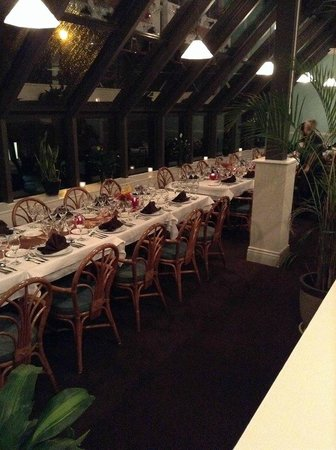 Westerly Restaurant : Long table 2