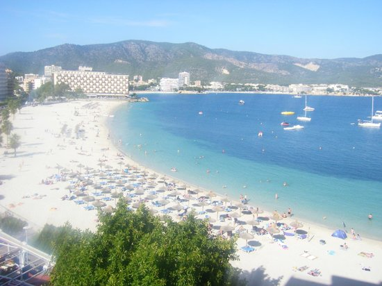Hotel Seramar Comodoro Playa : sea view balcony