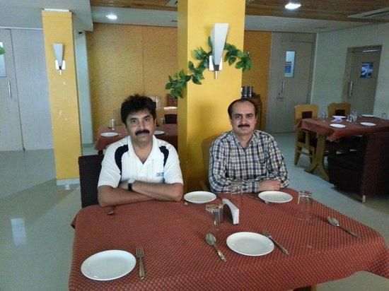 Hotel Sai Sahavas : In the restaurant