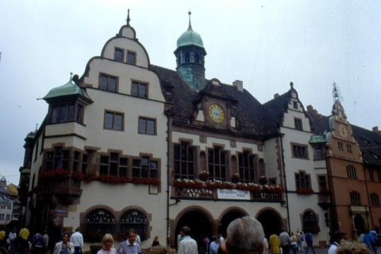 New Town Hall: facciata