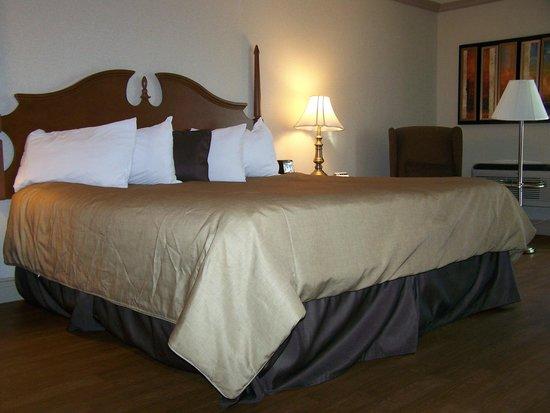 Best Western Plus Edmundston Hotel : La chambre, un grand lit King