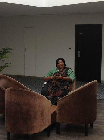 The Grand Bhagwati : sitting area!