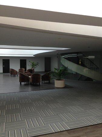 The Grand Bhagwati : good place to sit out and talk..
