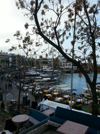 Puerto de Kyrenia: bel panorama