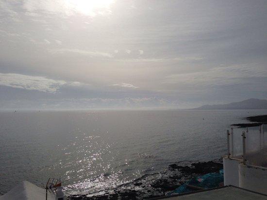Pepenero : View from the upstairs terrace