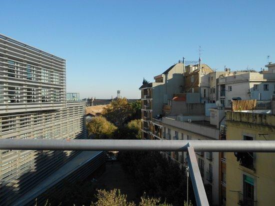 Hotel Acta Mimic: Ausblick Terasse 1