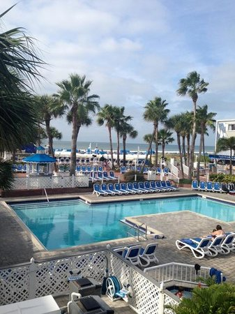 TradeWinds Island Grand Resort: The view from our room
