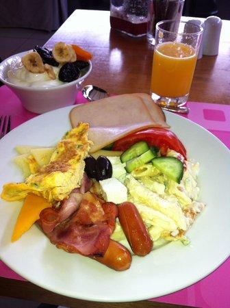 Fresh Hotel: Завтрак:)
