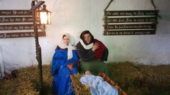 Causey Farm: Mary and Joseph..