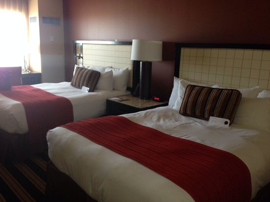 Overton Hotel and Conference Center: Double room