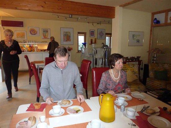 ApARThotel Benji: Gezellig ontbijten