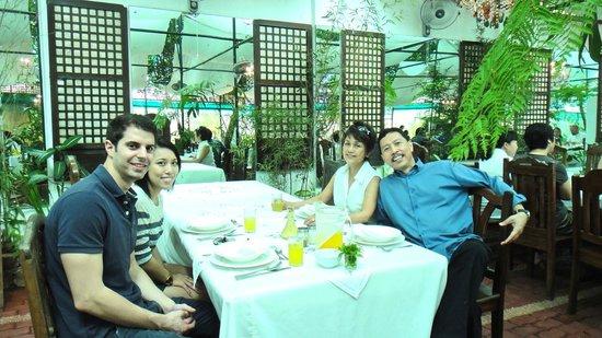 Sonya's Secret Garden: one of the dining halls