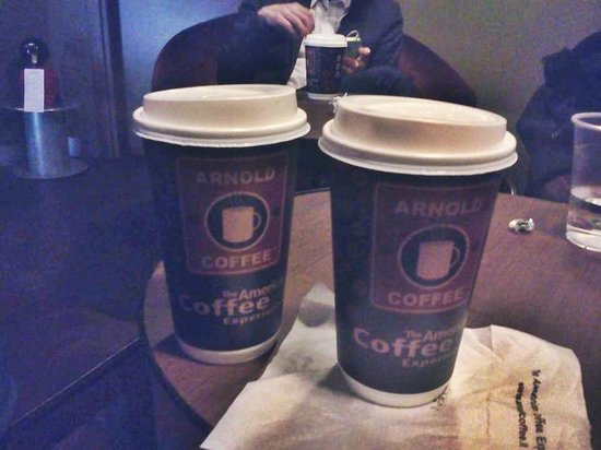 Arnold Coffee: bevanda di dimensione media