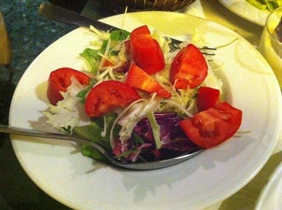 Aciugheta: Salada verde