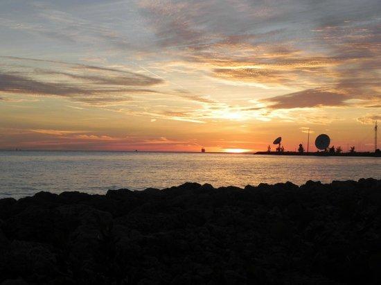 Hyatt Beach House Resort: Sunset in the Keys
