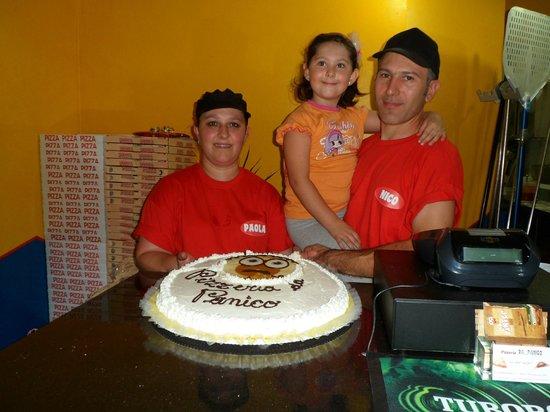 Pizzeria Da Panico: l'inaugurazione