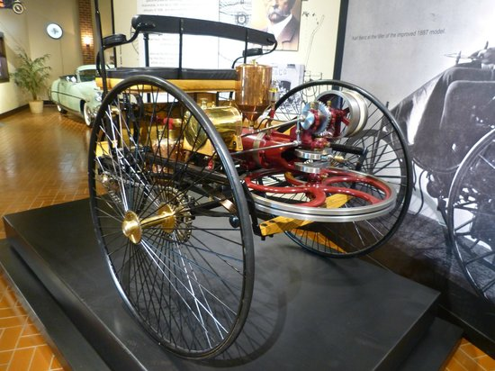 Gilmore Car Museum: 1885 Benz, The First Car
