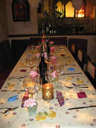 Restaurante Souk: Una cena en las Fiestas de Navidad