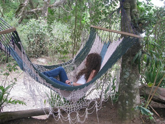 Hotel Jardines de Monteverde: nuestra cliente disfrutando de la vida