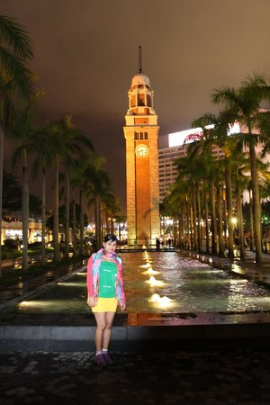 Former Kowloon-Canton Railway Clock Tower: Clock Tower 1