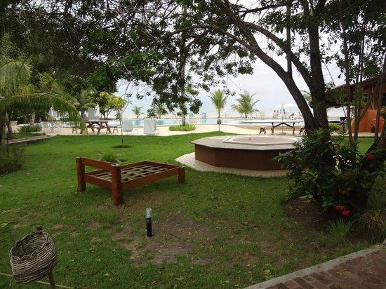 Karapitangui Praia Hotel: Maravilhoso, mesmo com chuva