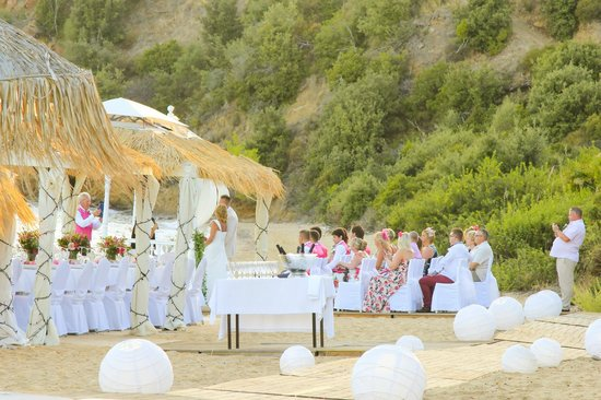 Skiathos Princess Hotel: Свадебная церемония