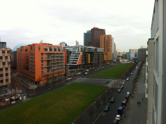 Scandic Berlin Potsdamer Platz: View from superior room 7th floor