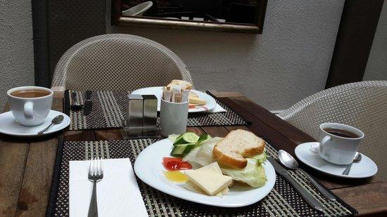 Breakfast at collage Taksim hotel