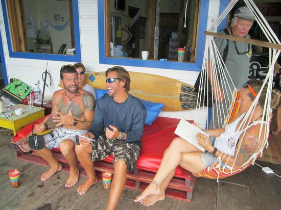 La Buga Dive Center & Surf School: having fun after the lessons