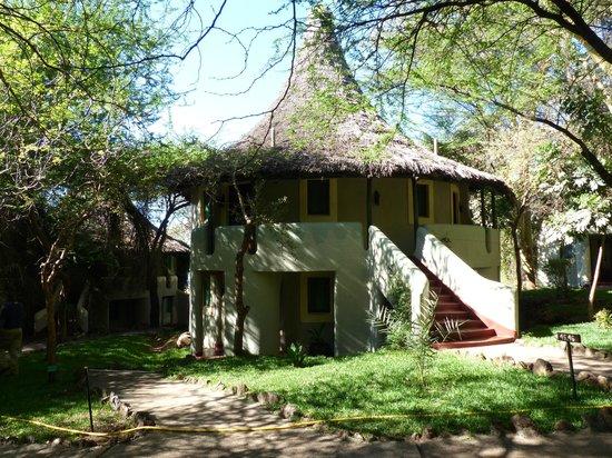 Lake Manyara Serena Lodge : Individaul lodges