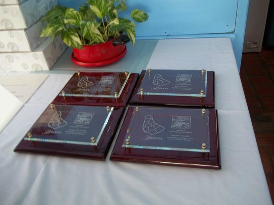The Palm Garden Hotel: Barbados Tourism Authority awards for some of our guest who visited the island 25+ times