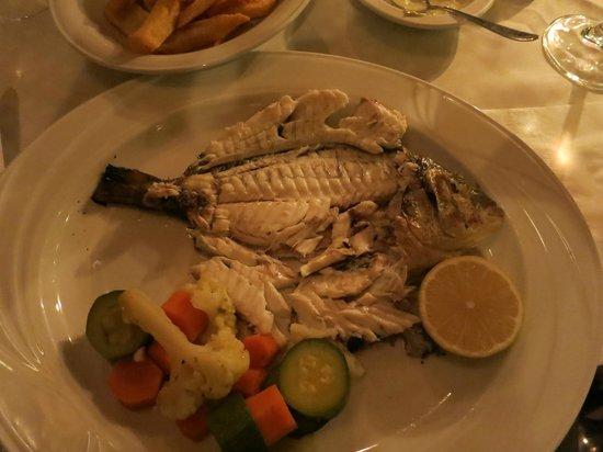 Taverna Napa: fresh grilled fish