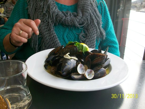 Marina Ristorante : Mussels and Cockles