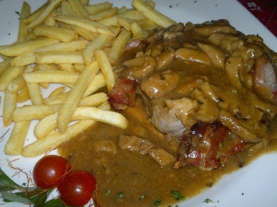 Storman : Filetto con porcini e patate fritte