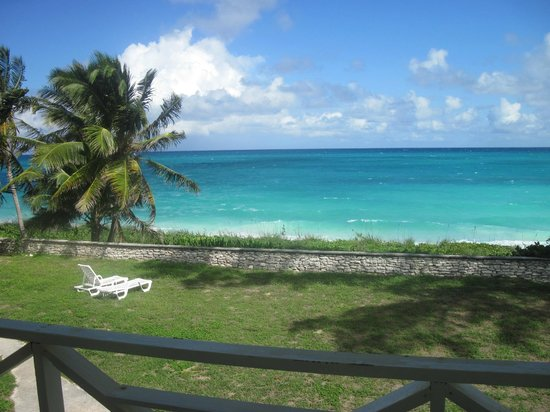Exuma Palms Hotel: view from the Lizard Room