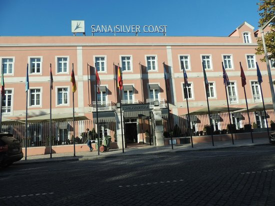 SANA Silver Coast Hotel: Fachada da frente do hotel