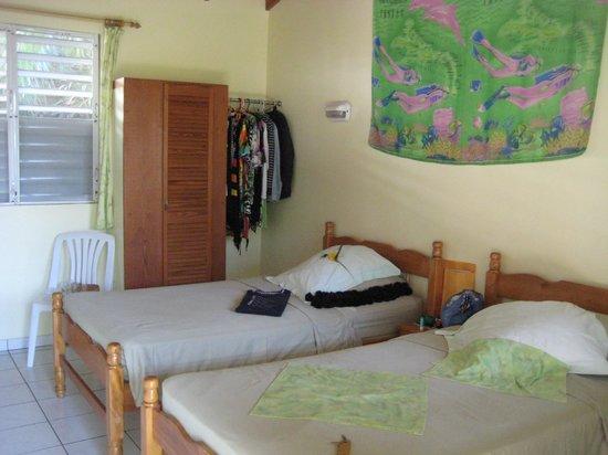 Sunset Bay Club & SeaSide Dive Center : Zimmer sind zum schlafen ganz ok.